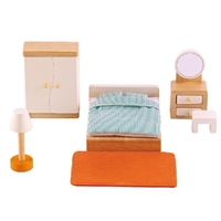 Hape Master Bedroom Dolls House Furniture