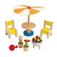 Hape Outdoor Patio Furniture Set