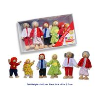 Fun Factory Doll Family 6 piece Box Set - Basic Range
