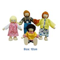 Fun Factory Caucasian Doll Family 4 pieces  - Basic Range