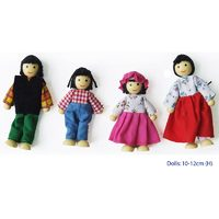 Fun Factory Asian Doll Family 4 pieces  - Basic Range