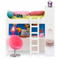 Lundby Smaland Loft Bed Set (lights up)