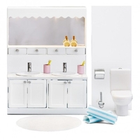 Lundby Smaland Bathroom Set (lights up)