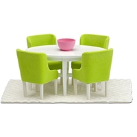 Lundby Smaland Dining Room Set, Green