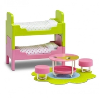 Lundby Smaland Children's Bedroom Furniture Set