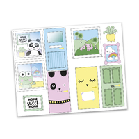 Lundby Creative Sticker Sheet - Windows and Doors