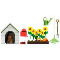 Lundby Smaland Garden & Dog Set