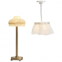 Lundby Smaland Lamp Set 2 - Floor & Ceiling Lamps