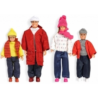 Lundby Smaland Winter Family Set