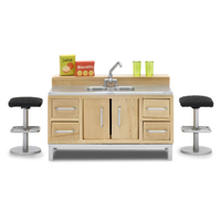 Lundby Stockholm Kitchen Bar Set