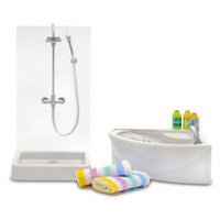 Lundby Stockholm Jacuzzi & Shower Bathroom Set