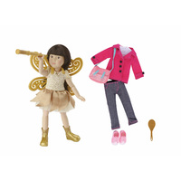 Kruselings Luna Doll Deluxe Fairy & Casual Set