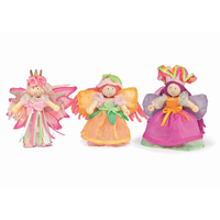 Le Toy Van Budkins Garden Fairies Triple Set