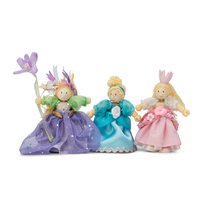 Le Toy Van Budkins Princess Triple Set