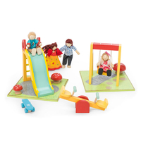 Le Toy Van Daisy Lane Outdoor Playset with Swing