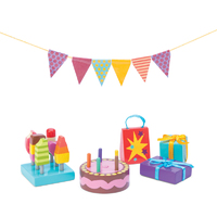 Le Toy Van Daisy Lane Party Time Doll's House Accessory Pack