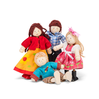 Le Toy Van Wooden Doll Family