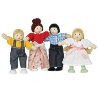 Le Toy Van Daisy Lane Doll Family
