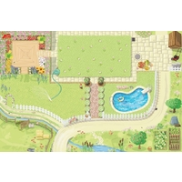 Le Toy Van Dolls House Playmat - Medium 80 x 120cm