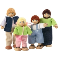 Voila Caucasian Family Set