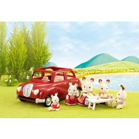 Sylvanian Families Family Saloon Car - Red