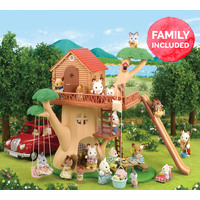 Sylvanian Families Tree House with Family