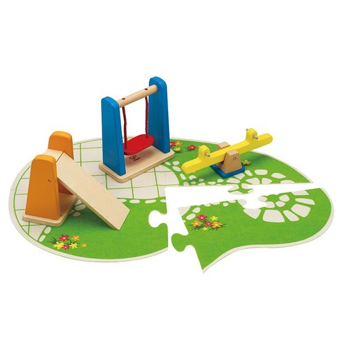 Hape Dolls House Playground