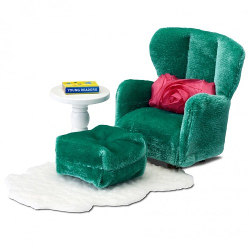 Lundby Smaland Armchair with Footstool