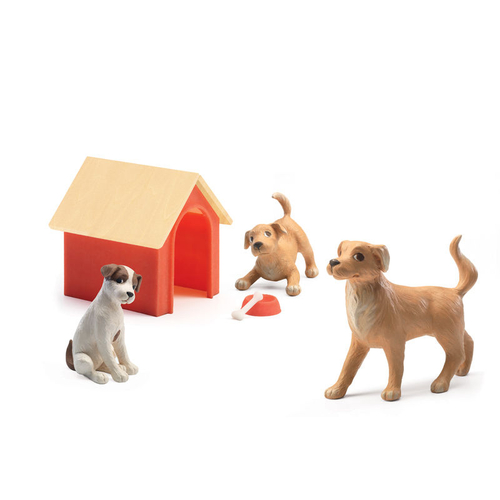 Djeco Dolls House Pet Dog Dolls