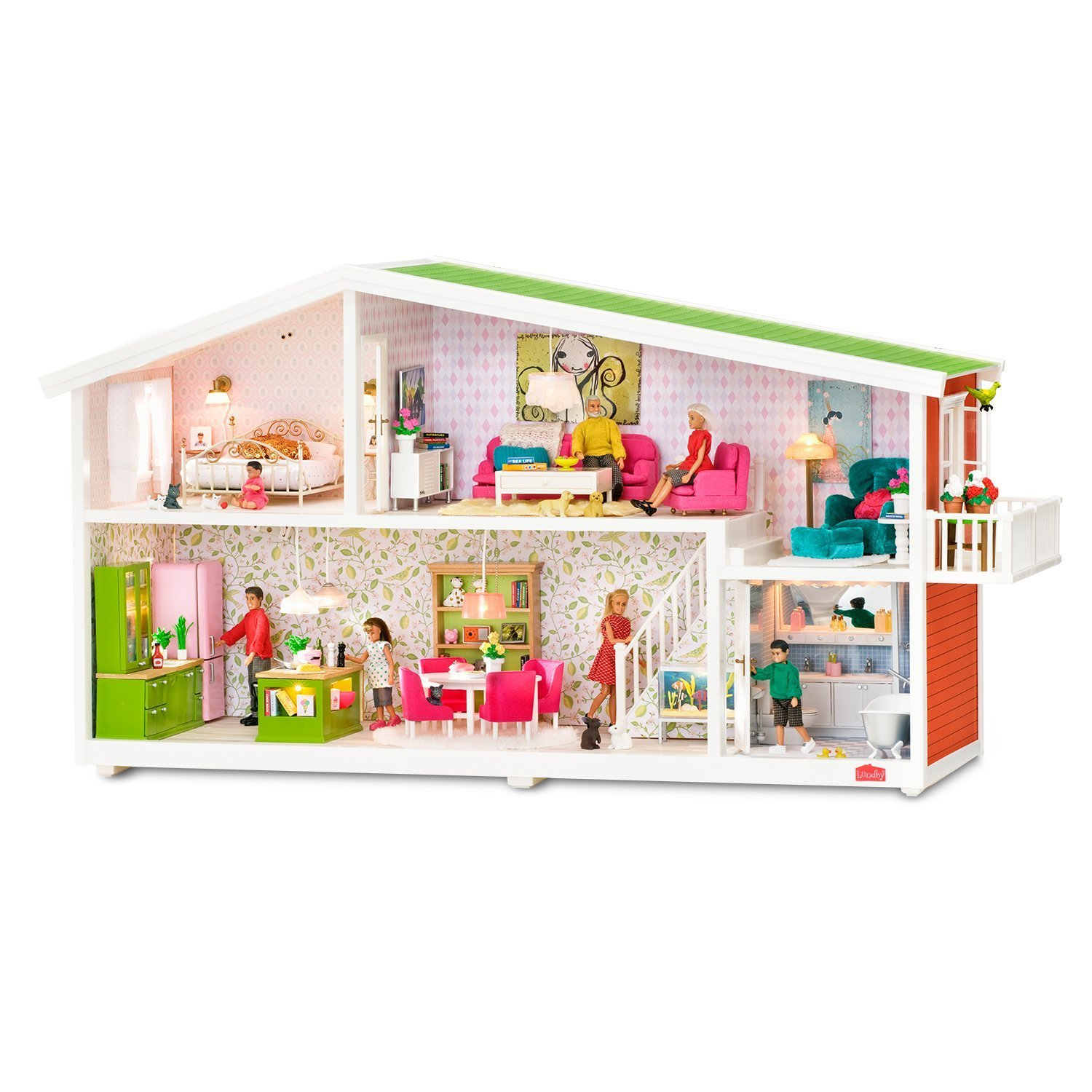 Lundby Smaland Dolls House | The Dolls House Boutique on jämtland, södermanland,