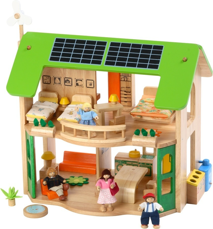 Voila Eco House With Furniture The Dolls House Boutique