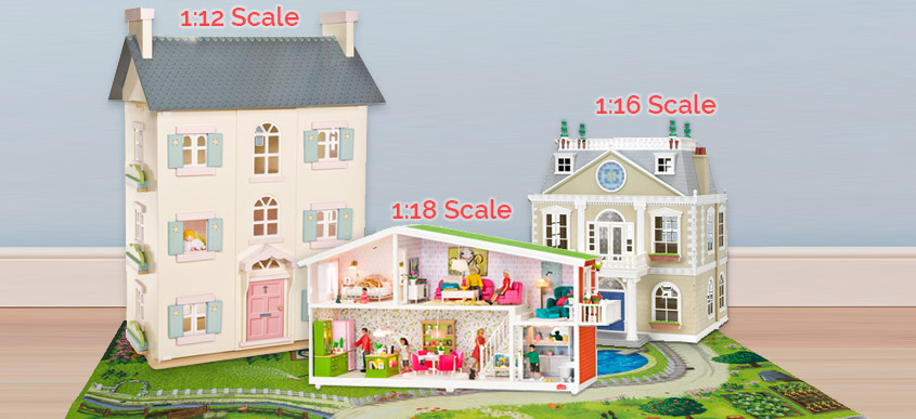 Dolls House Scale Guide - Size Comparison