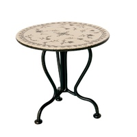 Maileg Vintage Tea Table - Micro - Anthracite