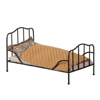 Maileg Vintage Bed - Mini - Anthracite