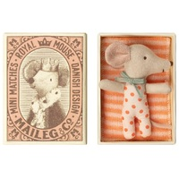 Maileg Mouse Baby Sleepy-Wakey girl