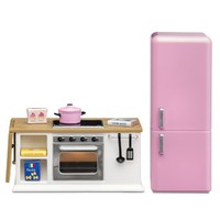 Lundby Smaland Stove & Fridge Set - White