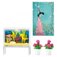 Lundby Smaland Aquarium & Picture Set