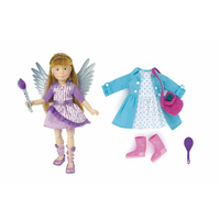 Kruselings Chloe Doll Deluxe Fairy & Casual Set