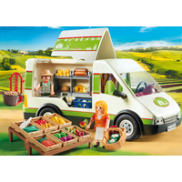 Playmobil Mobile Farm Market Food Truck