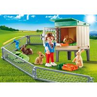 Playmobil Bunny Barn Carry Case