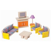 PlanToys Living Room Neo Dolls House Furniture