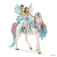 Schleich Fairy Eyela with Princess Unicorn