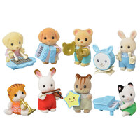 Sylvanian Families Baby Band Series - Mystery Bag x 4