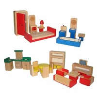 Fun Factory Doll House Furniture 26pc Set - Basic Range