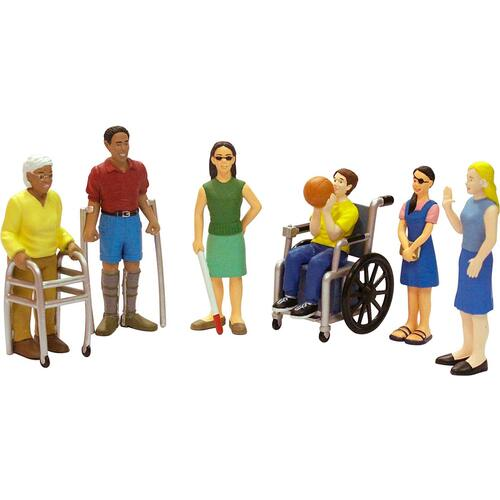 Miniland Figures - Friends with Disabilities