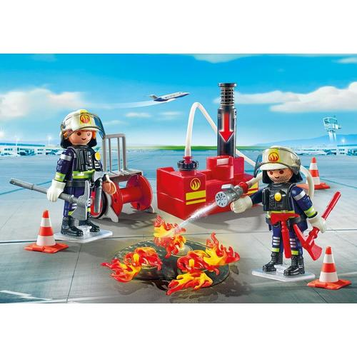 Playmobil Firefighting Operation with Water Pump