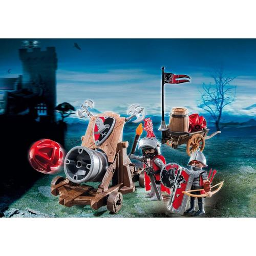 Playmobil Hawk Knights' Battle Cannon