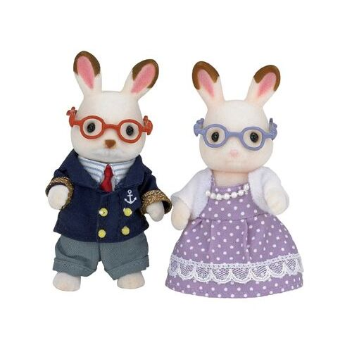 Sylvanian Families Chocolate Rabbit Grandparents