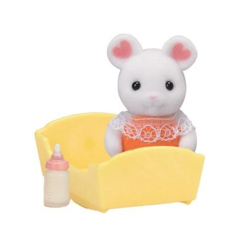 Sylvanian Families Marshmallow Mouse Baby