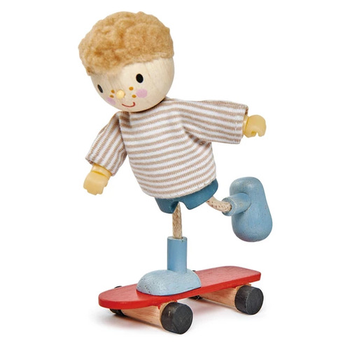 Tender Leaf Edward Goodwood Boy Doll and his Skateboard